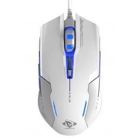 Mouse Gaming USB 3000dpi 6 Tasti Bianco Auroza-G EMS607WHAA-IU