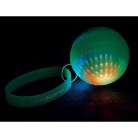Speaker Portatile Bluetooth Wireless Luminoso Atom Verde