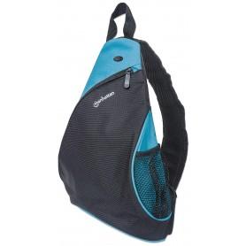 Zainetto Monospalla per Tablet e Ultrabook fino a 12'' Nero/Azzurro