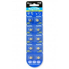 Batterie a bottone Alcalina LR48 LR754 393 AG5 (set 10 pz)