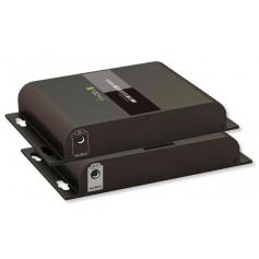 Extender VGA HDbitT con Audio su Cavo Cat.6 POE fino a 120m