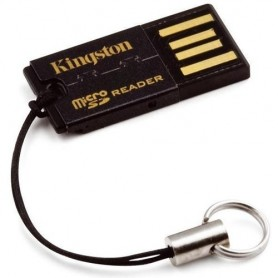 Kingston Technology FCR-MRG2 USB 2.0 Nero lettore di schede