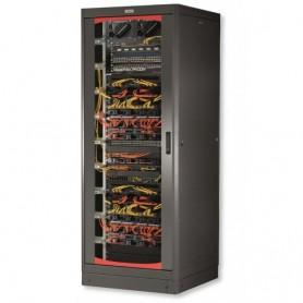 Armadio Server Rack 19'' 600x1200 27U Nero Serie Lite Porta Vetro