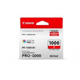 Canon PFI-1000 R cartuccia d'inchiostro Rosso 80 ml