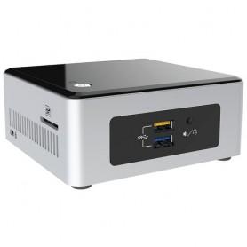 Intel NUC5CPYH BGA 1170 1.6GHz N3050 UCFF Nero, Argento