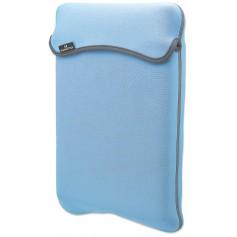 Custodia per Notebook, Reversibile,Verde/Azzurro, 14.1''