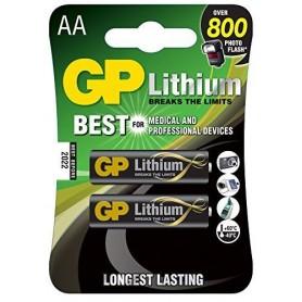 Blister 2 Batterie Litio Stilo AA 1,5V/15LF Longest Lasting