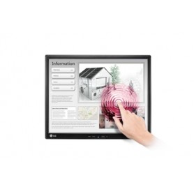"LG 19MB15T-I monitor touch screen 48,3 cm (19"") 1280 x 1024 Pixel Nero Multi-touch Da tavolo"