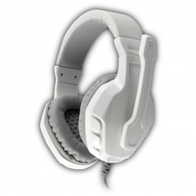 Cuffie Gaming con Microfono Panther Bianco Silver GHS-1641