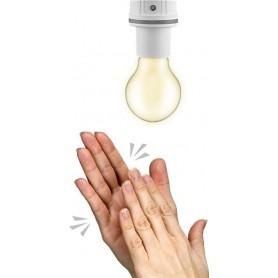 Presa per Lampadina E27 con Sensore di Suono e Luce