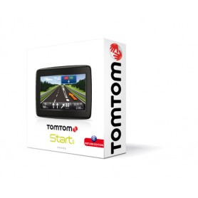 "TomTom Start 20 EU 45 REF navigatore 10,9 cm (4.3"") Touch screen Fisso Nero 154 g"