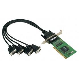 Scheda seriale PCI 4 porte DB9, CP-104UL