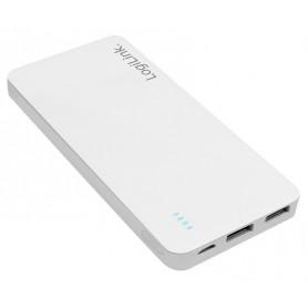 Power Bank 10000mAh 2x USB Bianco