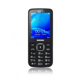 BRONDI CELLULARE DUKE S DUAL SIM 2,4A COLORI GSM RADIO FM NERO