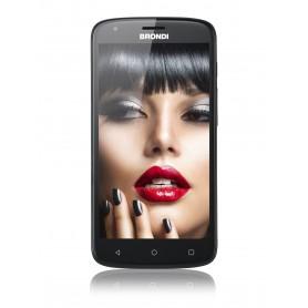 "BRONDI SMARTPHONE 730 4G HD 5"" QUAD CORE 1GB RAM 8GB ANDROID 7.0 NERO"