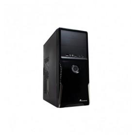 ADJ CASE MODELLO 2802, ATX, NO PSU, USB 2.0/3.0, COLORE NERO