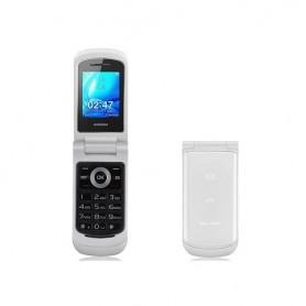 BRONDI CELLULARE OYSTER S DUAL SIM FLIP GSM 1,7 A COLORI RADIO FM BIANCO