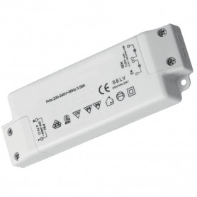 Techly I-LED-TR26WS 26W Bianco adattatore e invertitore