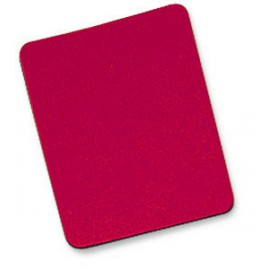 Tappetino per Mouse, 6 mm, Bulk, 25x22 cm, Rosso