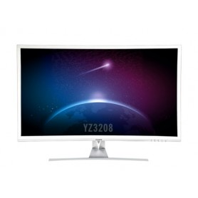 "YASHI MONITOR 32"", LED IPS, CURVO, 16:9, 1920X1080, 350 CD/M2, VGA, HDMI, PIONEER SLOM"