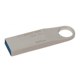 Kingston Technology DataTraveler SE9 G2 32GB 32GB USB 3.0 (3.1 Gen 1) Tipo-A Argento unità flash USB