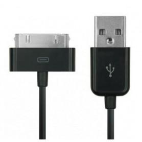 Cavo da connettore dock a USB per iPhone 30p Nero
