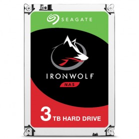 Seagate NAS HDD IronWolf 3TB 3000GB Serial ATA III disco rigido interno