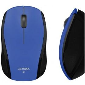 LEXMA MOUSE BLUE TRACE USB 2000 DPI COLORE NERO-BLU
