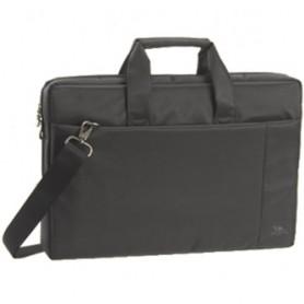 BORSA NB RIVACASE 17.6'' Pareti imbottite, tasca esterna per Tablet, tracolla, tasca frontale porta accessori COLORE GRIGIO