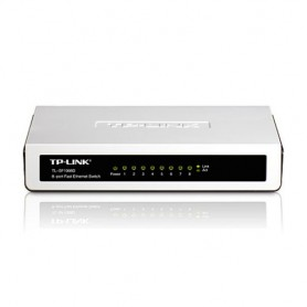SWITCH TP-LINK TL-SF1008D 8P LAN DESKTOP 10/100M RJ45 CASE PLASTICA