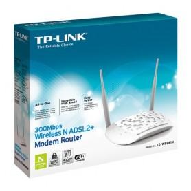 ROUTER TP-LINK TD-W8961N(EU) ADSL2+ 300Mbps Wireless N 802.11b/g/n Annex A, 4 FE LAN, 2 ANTENEN FISSE
