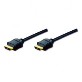 CAVO HDMI 3D M-M DIGITUS CON ETHERNET CONNETTORI DORATI 2mt