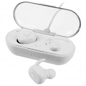 Auricolare Bluetooth v4.2 Toka Bianco