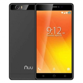 "SMARTPHONE NUU MOBILE M3x M3x-EU-BLK Black 5,5"" DualSim QC 1.3GHz 3GB 32GB 8+5Mpx 4G CORPO IN METALLO Android 7.0"