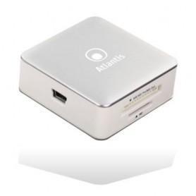 MULTICARD READER ATLANTIS P005-CR28 ALL-IN-1 ESTERNO USB 2.0 Supporta anche T-Flash/Micro SD/M2 MMC Micro