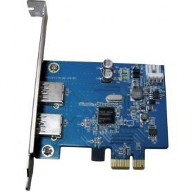 SCHEDA ATLANTIS P001-USB30-PCX PCI-EX USB 3.0, 10 volte più veloce dell'USB-2.0. 5Gbit/s