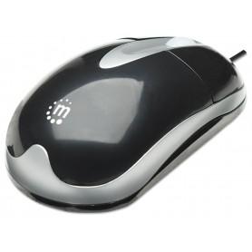 MH3 Mouse Classic Desktop Ottico USB Nero