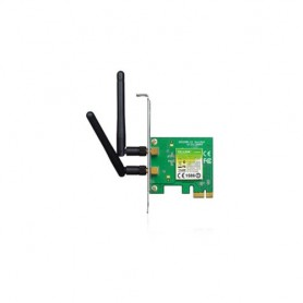 SCHEDA WIRELESS TP-LINK TL-WN881ND PCI EXPRESS 300M Atheros, 2T3R, 2.4GHz 802.11n/g/b, 2 ANTENNE STACCABILI 2dBi