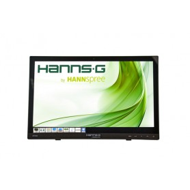 "Hannspree HT HT161HNB 15.6"" 1366 x 768Pixel Multi-touch Da tavolo Nero monitor touch screen"