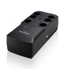 UPS TECNOWARE ERA PLUS STRIP 800 800VA/560W Line Interactive con stabilizzatore 3prese Schuko+3prese filtrate Schuko