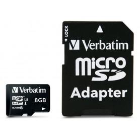 Memoria Micro SDXC 8 Gb con Adattatore - Classe 10