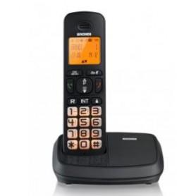 BRONDI TELEFONO CORDLESS BRAVO RICH TASTI RETROILLUMINATI VIVAVOCE DECT GAP