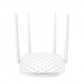 ROUTER TENDA FH456 WIRELESS N 300M 3P LAN 10/100M+1P WAN - 4 ANTENNE FISSE 5dBi WIFI ON/OFF SWITCH