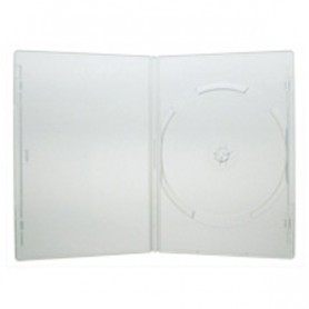 Custodia per DVD/CD BOX Trasparente Slim