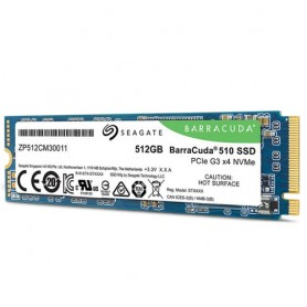 Seagate BarraCuda 510 drives allo stato solido M.2 512 GB PCI Express 3.0 3D TLC NVMe