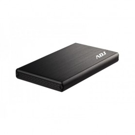 ADJ BOX ESTERNO AH621 STEEL 2,5 SATA USB2.0 ALLUMINIO E PLASTICA NERO
