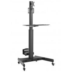 Trolley da Pavimento Mensola e Porta CPU 1 TV LCD/LED/Plasma 13-32''