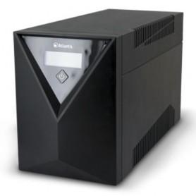 UPS ATLANTIS Server A03-S2001 2000VA (1200W) Stepwave Line Interactive V-OUT 200-243Vac Doppia Batteria. USB