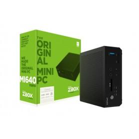 ZOTAC ZBOX BAREBONE MI640NANO I5-8250U 2X DDR4 SODIMM DUAL GLAN WIFI BT USBDRV DP/HDMI
