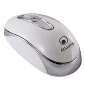 """MINI MOUSE ATLANTIS """"P009-TM032-W"""" SCROLL USB, White"""